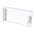 AV Snap-In Blanking Plate - 25 x 50mm - White