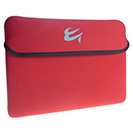 iPad Tablet PC Sleeve - Red/Black Reversible Design