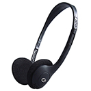 HP503 Basic Stereo PC On-Ear Headset with In-Line Mic & Volume Control - Black