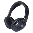 HP517 Stereo PC On-Ear Headset with In-Line Mic & Volume Control - Black
