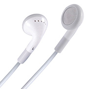 Stereo In-Ear Headphones - White