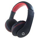 HP530 Stereo PC On-Ear Headset with In-Line Mic & Volume Control - Black/Red