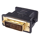 26-1654 -Connector 1: DVI-I Male (24+5)