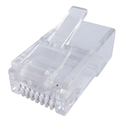 RJ45 Cat 6 crimp end
