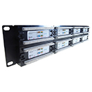 48 Port Patch Panel (Cat6) IDC Punch Down 19 inch