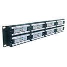 48 Port Patch Panel (Cat5e) IDC Punch Down 19 inch