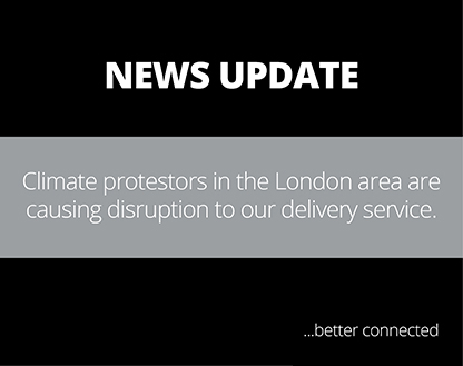 Possible disruption to our delivery service